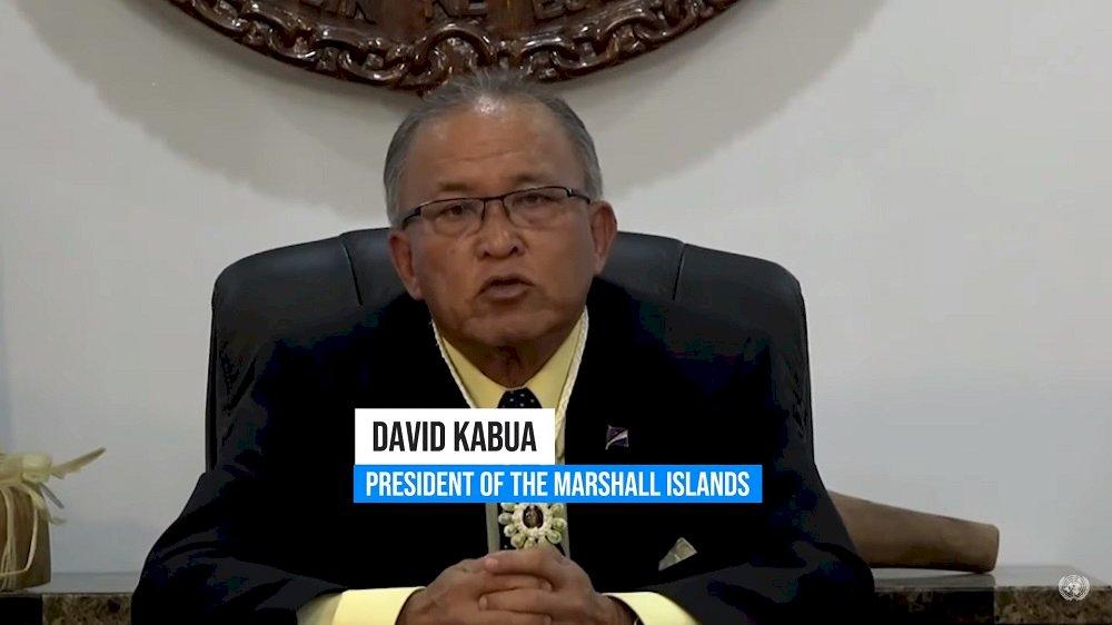 馬紹爾總統聲援台灣 籲聯合國終結「可恥沉默」