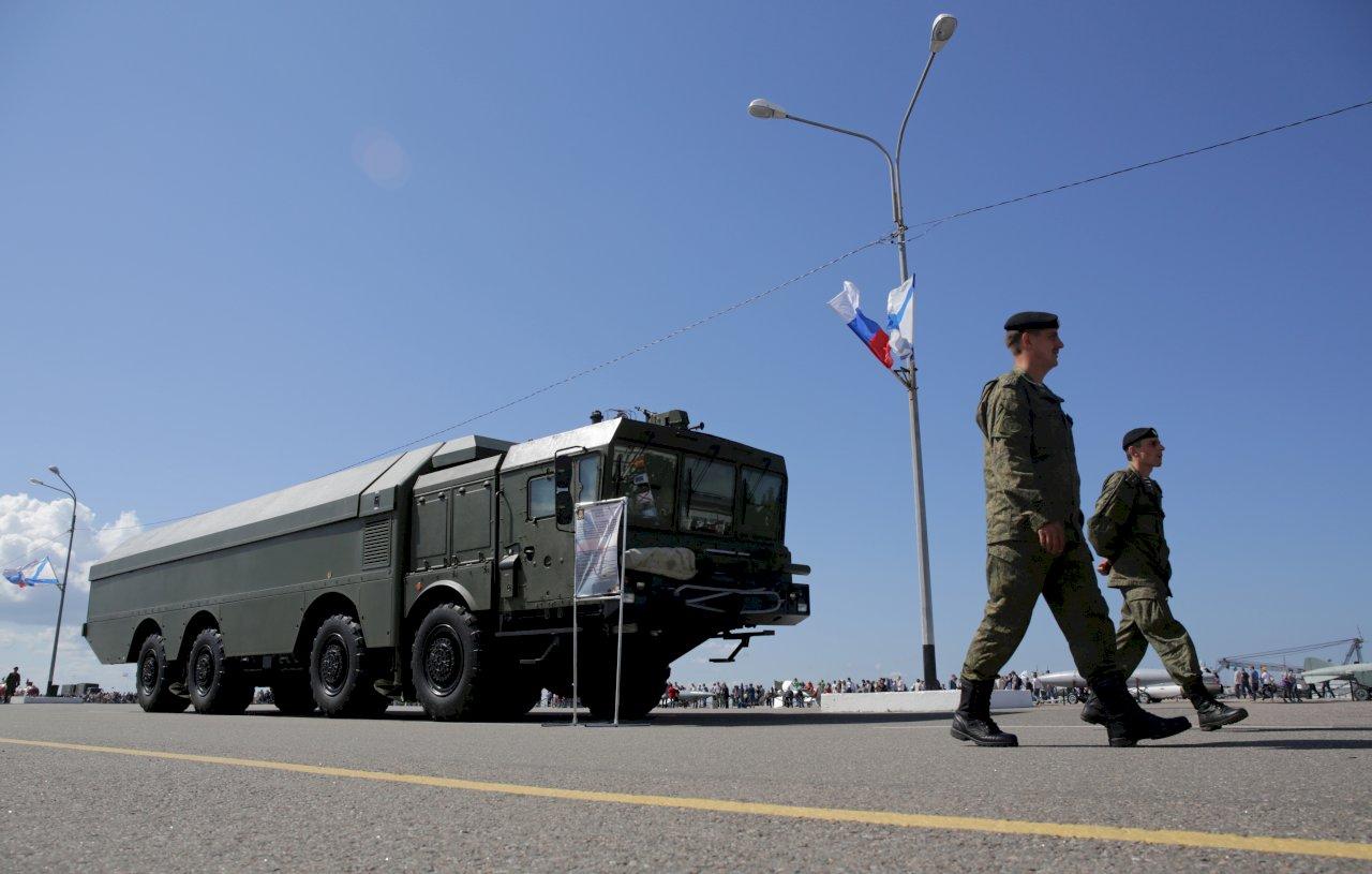 烏克蘭美國聯合軍演之際 俄國海軍實彈攻擊黑海目標