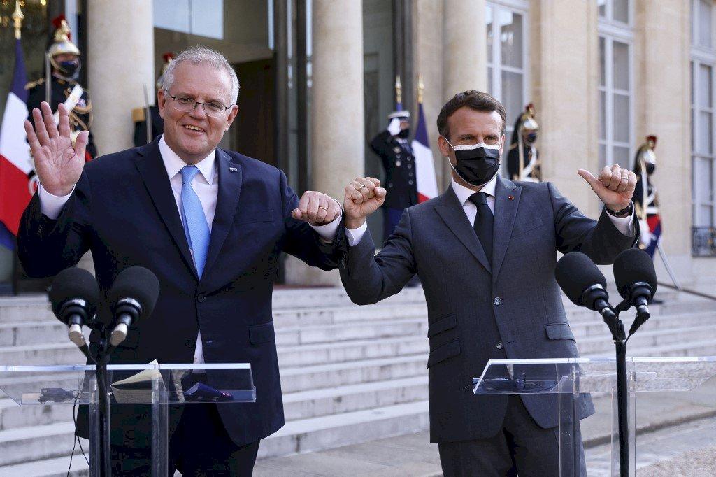 澳洲棄單法潛艦 莫里森:將耐心修補與法國關係