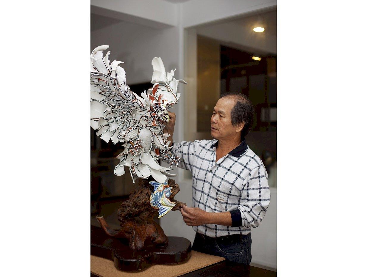 剪黏大師陳三火  獲「2021年國家工藝成就獎」