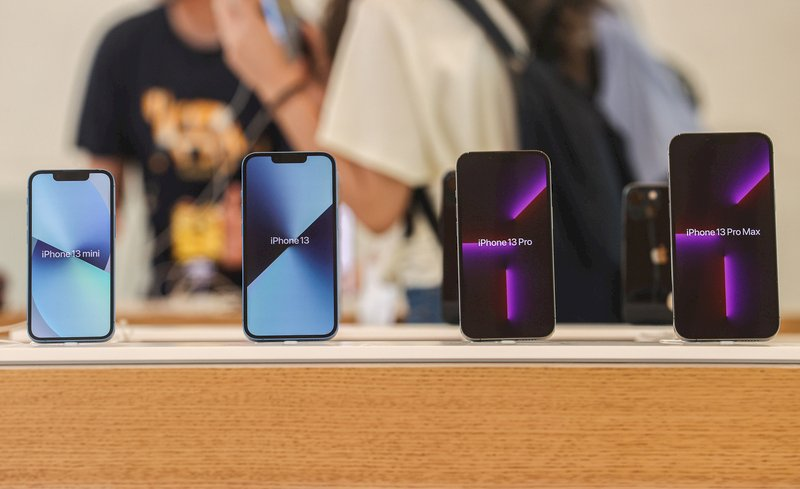 iPhone 13開賣首日銷量倍增 高階機、新色熱銷