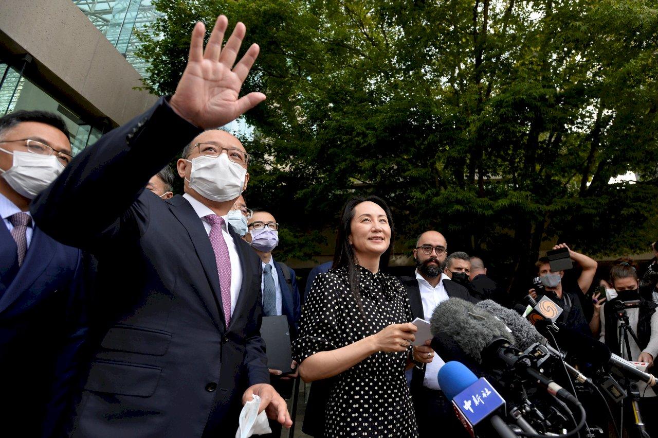 加拿大法官終結引渡程序 釋放華為財務長孟晚舟