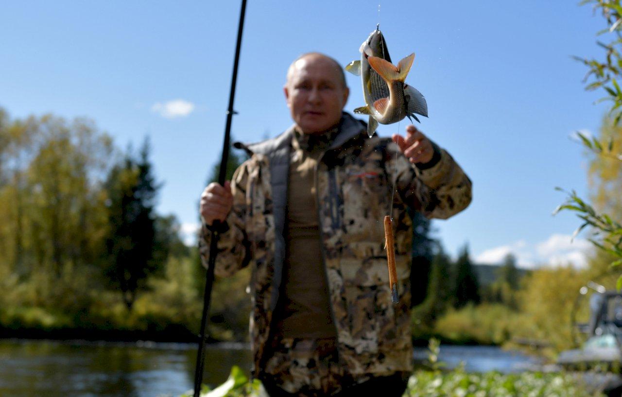 蒲亭結束自主隔離 前往西伯利亞釣魚