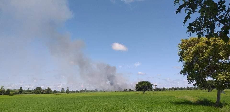 緬甸衝突持續 軍方對西北地區發動空襲