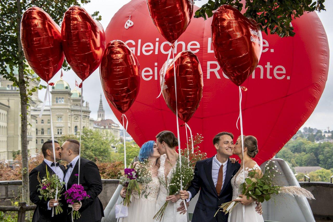 LGBT歷史一刻 瑞士同性婚姻公投說YES