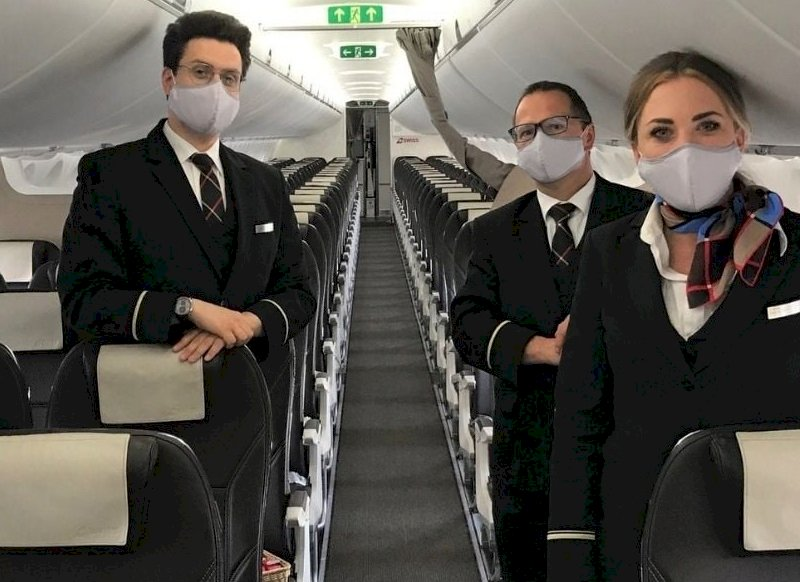 瑞士航空:機組人員拒接種疫苗將被解僱