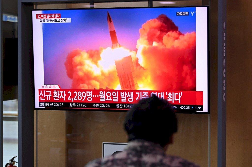 南韓軍方:北韓朝東部海域發射不明飛行物