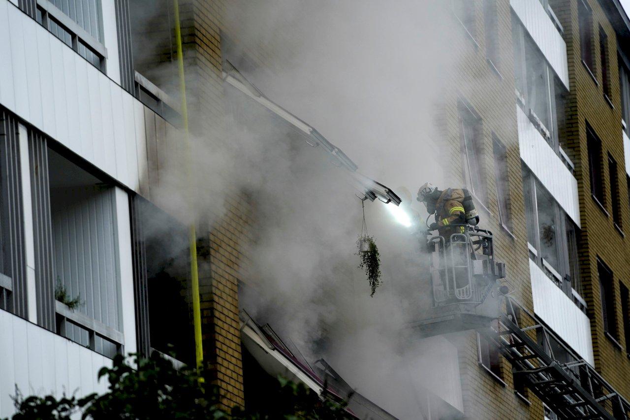 瑞典哥特堡公寓爆炸案 警方懷疑有犯罪動機