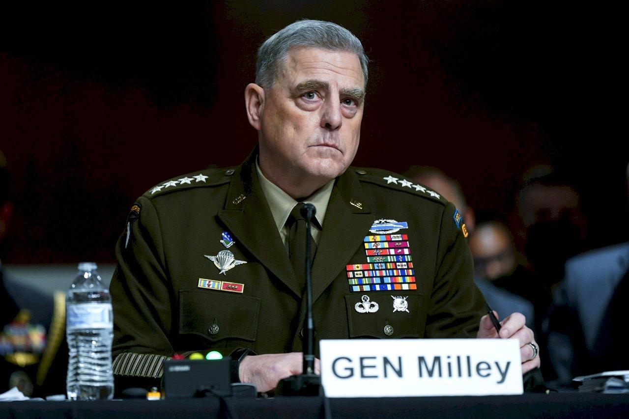 參院聽證 美參謀首長為防美中開戰致電共軍辯護