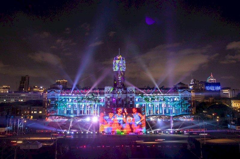 慶雙十:國內外歡欣鼓舞 國慶光雕率先登場