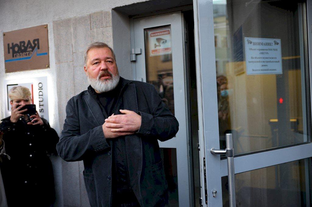 蒲亭:和平獎無法成為穆拉托夫的庇護