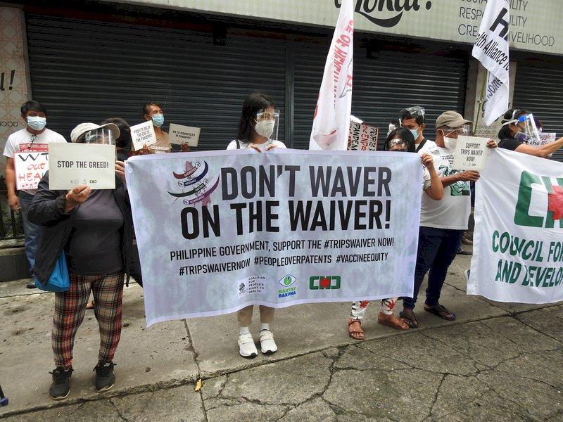 疫情肆虐 菲律賓醫護籲政府挺豁免疫苗專利