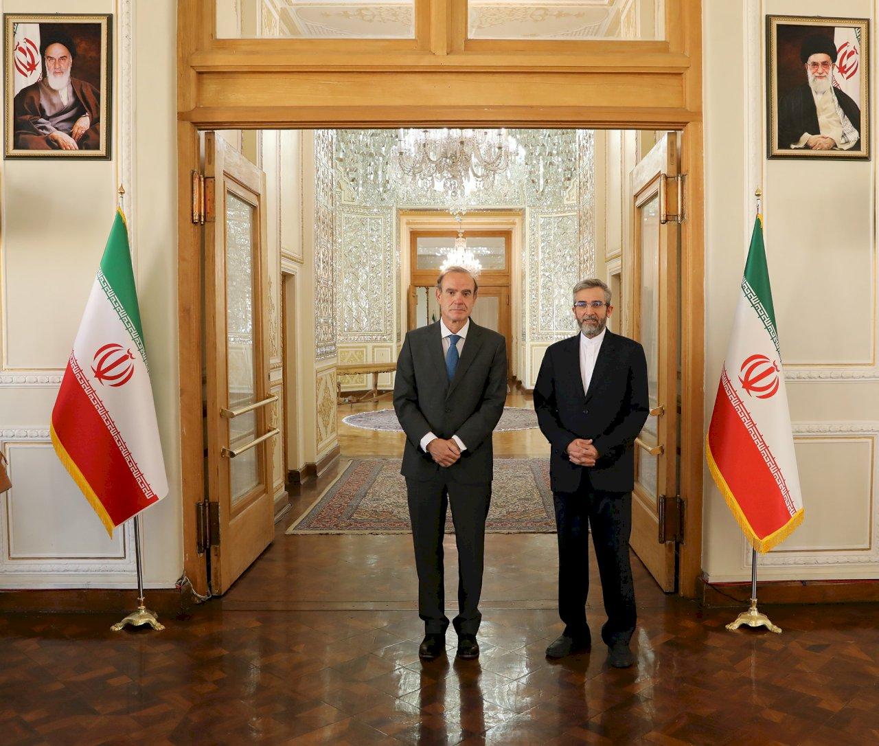 歐盟特使與伊朗副外長會談 聚焦恢復核子協議談判