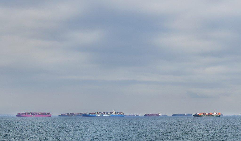 洛杉磯港勞資協議全天候營運 紓解貨櫃積壓問題